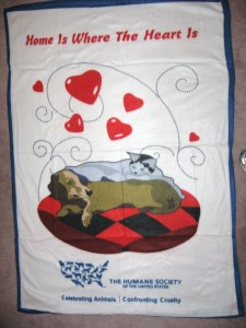 HSUS Gift Blanket