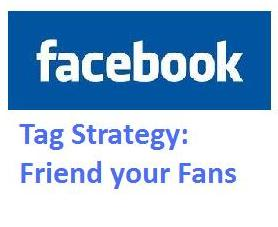 Page you have to do the tagging from your personal profile status