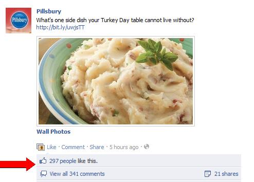 Pillsbury Facebook page