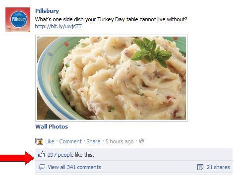 Pillsbury Facebook page