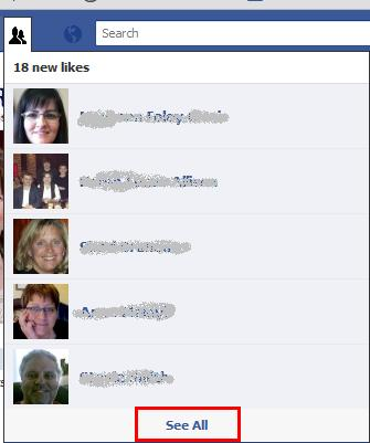 New Facebook Likes