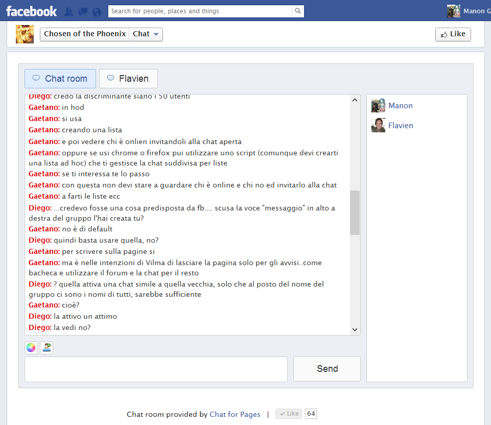 Chat Room Not Showing In Facebook