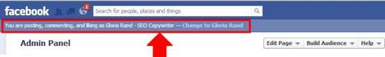 Facebook posting preferences
