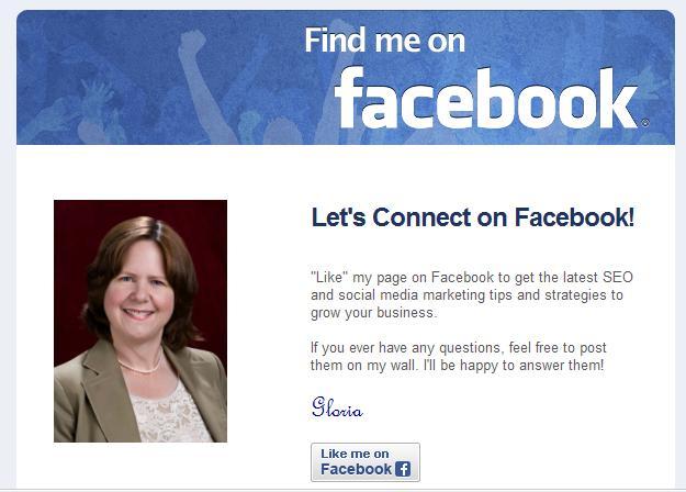 Find me on Facebook email