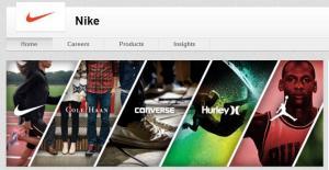 Nike LinkedIn cover image