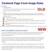 Facebook Changes Page Cover Image Rules… Again!