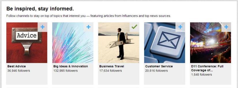 LinkedIn Channels